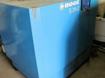 Použitý šroubový kompresor Boge S29-2-10